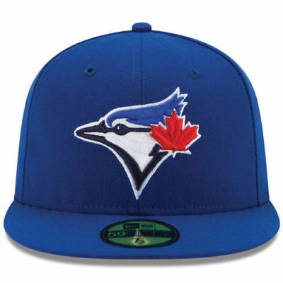 quality design bce08 a4cfc New Era 59FIfty MLB Authentic Toronto Blue Jays Gm On-Field Fitted Cap Size  75