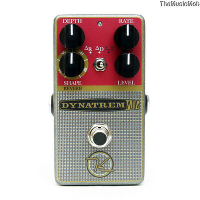 NEW KEELEY DYNATREM TREMOLO GUITAR EFFECTS PEDAL 0$ US S&H w/ FREE CABLE