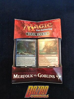 MTG Duel Decks Merfolk vs Goblins 2017 Magic the Gathering BNIB