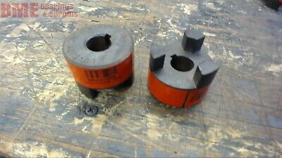 "Lot Of 2 Lovejoy  L-075 Jaw Coupling .625"" Bore"