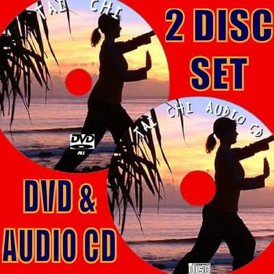 Learn Tai Chi Simple Exercise For Mind And Body Video Dvd & Cd Health & Fitness