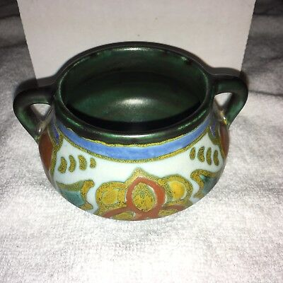 Gouda Two handled Cup, Made in Holland, signed.