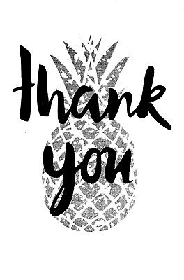 Bulk Lot Of 36 Thank You Cards For Business Blank Wedding Party