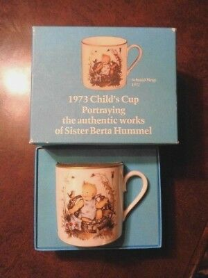 Schmid Child's Mug 1973 Cup from Authentic Painting by Sister Berta Hummel  (58)