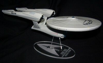 acrylic display stand for Playmates 2009 movie Star Trek Enterprise