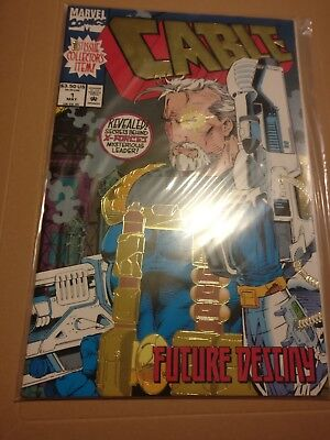 Cable - Future Destiny 1st Issue Collector's item issue. Marvel X-Men comic