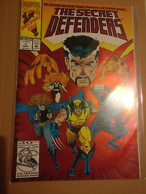 The Secret Defenders Issue 1