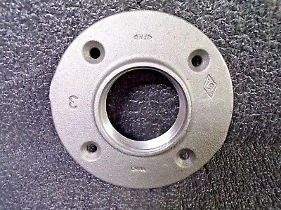 "Floor Flange, FNPT, 3"" Pipe Size - Pipe Fitting (K)"