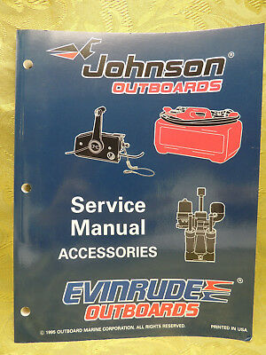1996 Johnson Outboards Service Manual Accessories Evinrude Outboards 507129