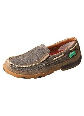 Twisted X Women's Dust ECO TWX Slip-On Driving Moccasins WDMS009