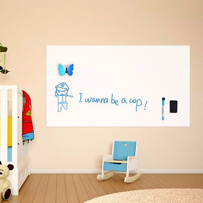 1Pc Soft Magnetic Whiteboard Flexible Fridge Message Board Magnet Notes Memo Pad