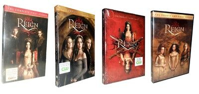 Reign: The Complete Series Seasons 1-4  (DVD, 17-Disc Set) 1 2 3 4