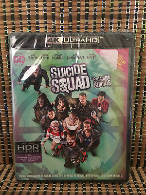 Suicide Squad 4K/Extended Cut (2-Disc Blu-ray, 2016).DC/Harley Quinn/Deadshot
