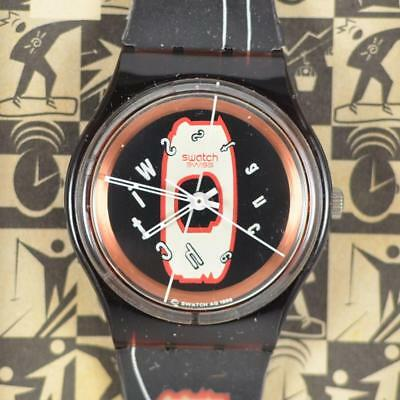 Swatch Access Drop Out Swiss Watch SKR100 New Old Stock in Box