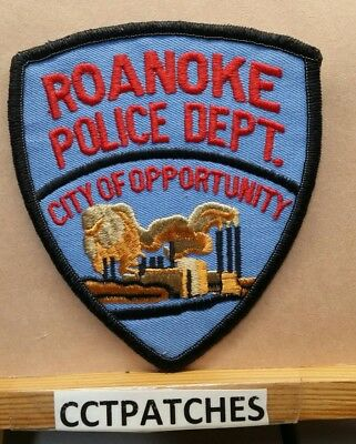 Roanoke, Alabama Police Shoulder Patch Al