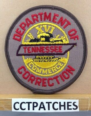 Department Of Correction Tennessee Dark Brown (Police) Shoulder Patch Tn