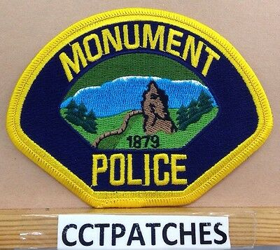 Monument, Colorado Police Shoulder Patch Co
