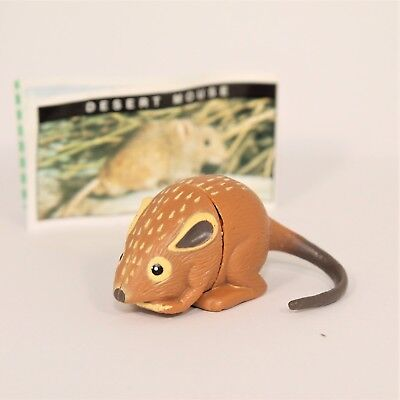 YOWIE Series 1 Desert Mouse  Paper (intact) + Toy