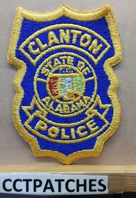Clanton, Alabama Police Shoulder Patch Al