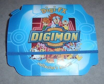 "DIGIMON ""Digi FX"" COLLECTOR'S ALBUM WITH CARDS"