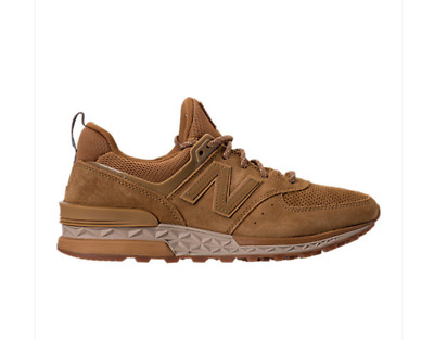 size 40 2d23e 54e23 NEW! NEW BALANCE 574 Sport Suede Casual Shoes sneaker Beige brown MS574CB  f1c1