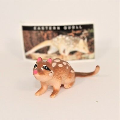 YOWIE Series 1 Eastern Quoll Paper (intact) + Toy Cadbury