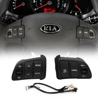 OEM Audio Cruise Control Switch + Extension Wire Heated For KIA 2011-16 Sportage