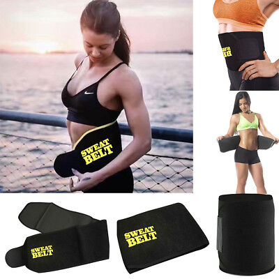 Waist Training Trimmer Fajas Belly Belt Sweat Body Shaper Clincher Corset AS