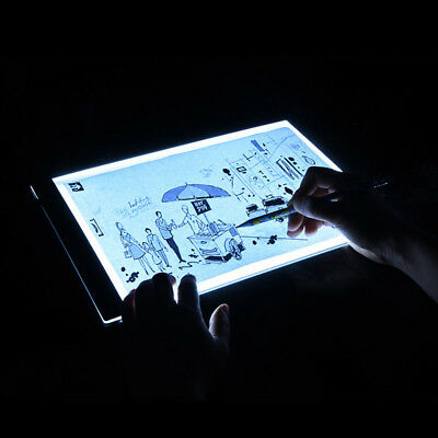 Adjustable Digital Tablet A4 LED Thin Art Stencil practice Drawing Light Board
