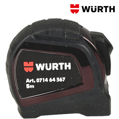 Flessometro 5 Metri Professionale in ABS - WÜRTH