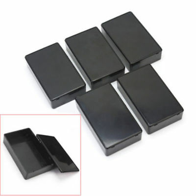 100x60x25mm Black Plastic Cover Project Electronic Instrument Case ASS