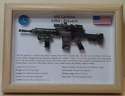 M4 Carbine Assault Rifle  *** LIMITED EDITION ***