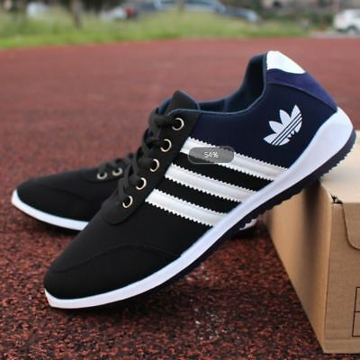 Men's Shoes Fashion Breathable Casual Canvas Sneakers Running Trainers Shoes SLL