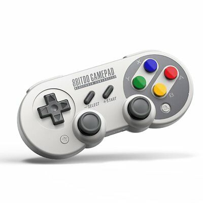 8Bitdo SF30 Pro Controller Gamepad für Windows Mac OS, Android, Nintendo Switch
