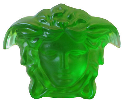 Rosenthal Versace Treasury Briefbeschwerer in emerald - II. Wahl - (AE912)