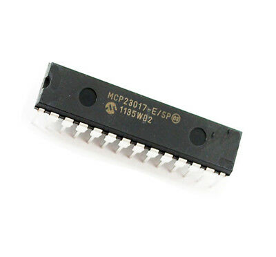 1/5/10PCS MCP23017-E/SP DIP28 16-Bit I/O Chip I2C Interface IC ASS
