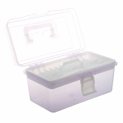 Plastic Handle 2 Layer Hardware Tools Storage Box Clear Purple FP  sc 1 st  PicClick UK & NEW PLASTIC Storage Tower 3 4 5 6 Tier Drawer Container Desktop ...