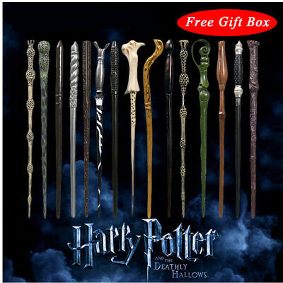 Harry Potter Magic Wand Figure Hermione Voldemort Replica Cosplay Props Boxed AU