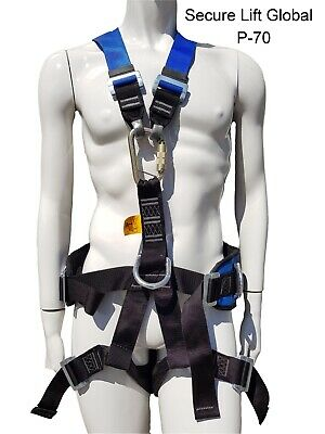 Multi-Point Safety Harness – with Snap Hook (P-70)