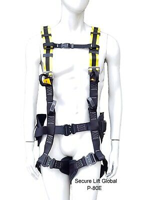Multi-Point Safety Harness – with Quick Release Connectors (P-80)