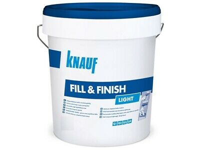 Knauf Fill & Finish Light Fertigspachtel Fugenspachtel Spachtelmasse 11,5 Kg