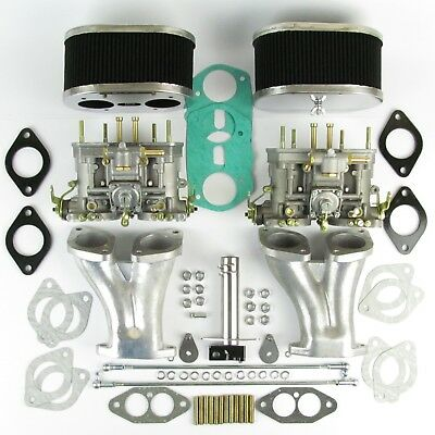 Genuine Weber 40IDF carb kit VW air cooled T1 jetted for 1800-2000cc CSP linkage
