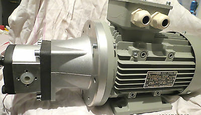 AC MOTOR 230/400 Volt, 2,2 kW Motor Hydraulic Device without Oil Holder