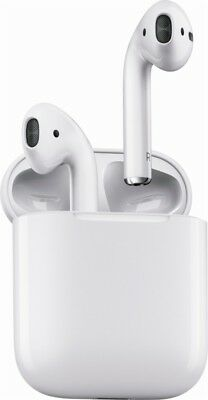Apple AirPods White Boxed Wireless Bluetooth - Factory Sealed (No Re-Shippers)