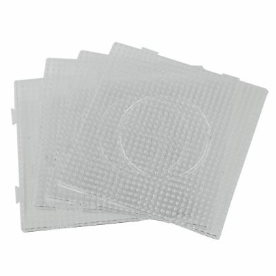 4pcs ABC Clear 145x145mm Square Large Pegboards Board for Hama Fuse Perler Be FP
