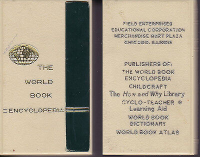 "Vintage ""The World Book Encyclopedia"" Plastic Book Coin Bank-Promotional"