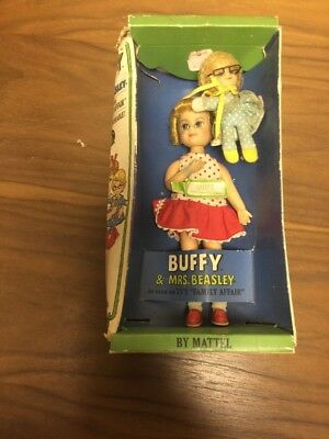 1967 Mattel Family Affair Buffy & Mrs. Beasley Boxed