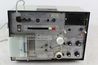 George Washington Ltd Oscillograph 400 MD/2 (Technograph) Oscilloscope + Paper