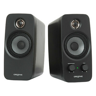 Creative Labs IN-T10-R3 Creative Inspire T10 2.0 Multimedia Speaker System wi...
