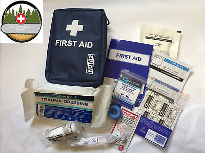 FORESTRY FIRST AID KIT - Trauma  & Eye Dressing Tourniquet  Belt Loop Gardener
